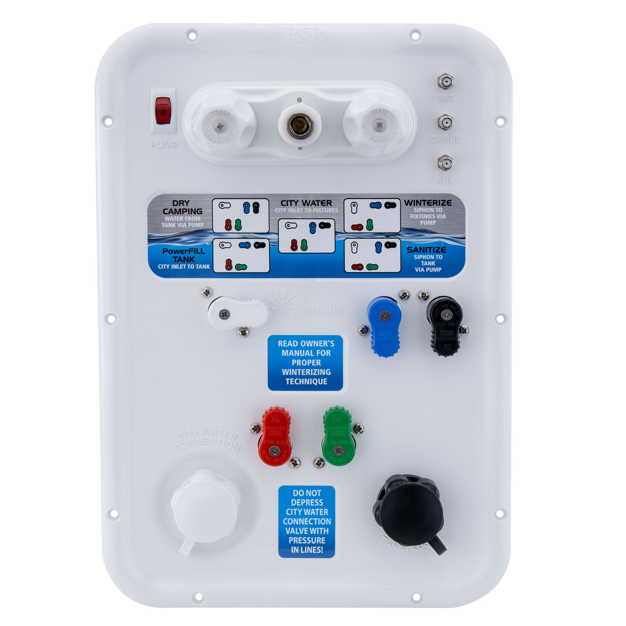 Nautilus P1 RV Water Management Board
